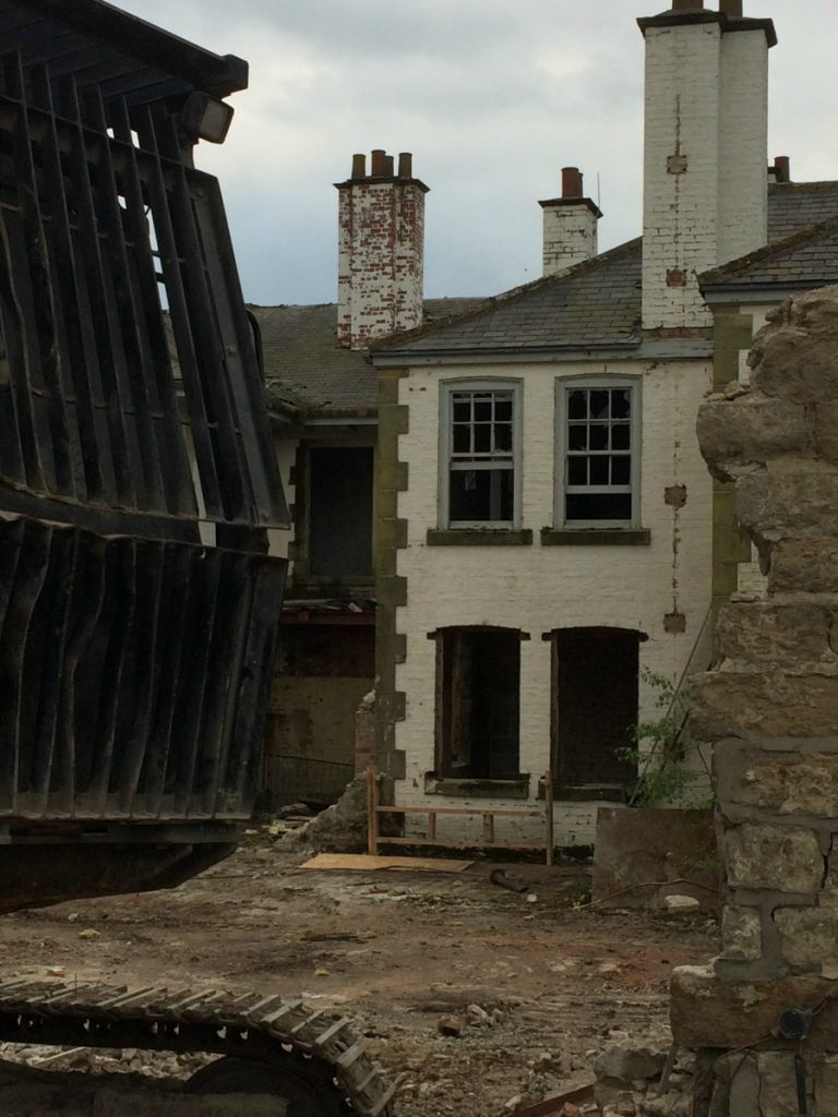 Ravenswick Hall demolition